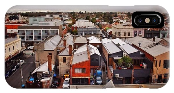 City Scape iPhone Case - Prahran From Five Floors by Owen Hedley Photography