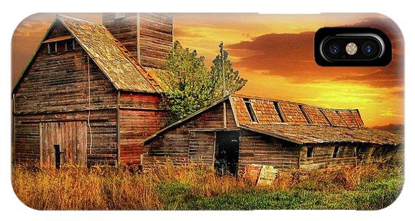 Prairie Barns IPhone Case