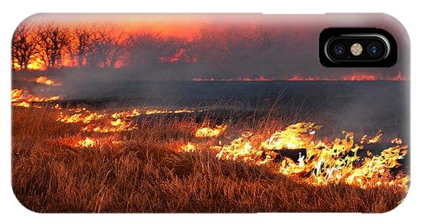 Prairie Burn IPhone Case
