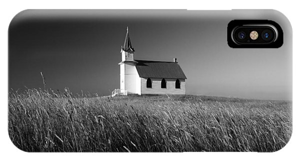 Lutheran iPhone Case - Prairie Chapel by Todd Klassy