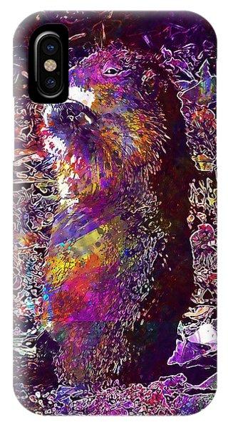 Prairie Dog Portrait Close Up Cute  IPhone Case