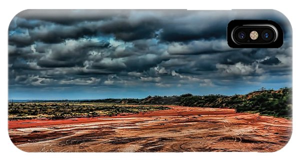 Prairie Dog Town Fork Red River IPhone Case