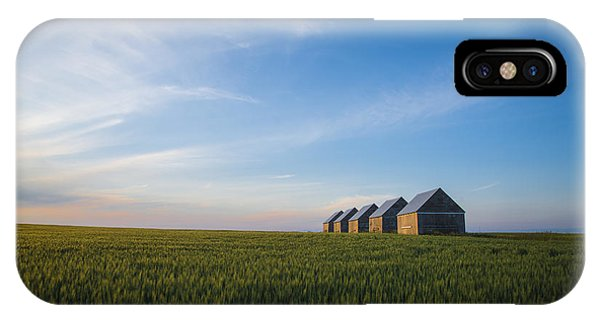 Prairie Evening IPhone Case