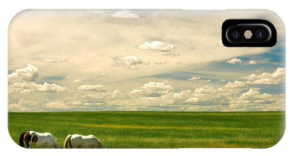 Prairie Horses IPhone Case