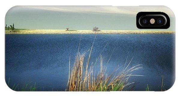 Prairie Lake IPhone Case