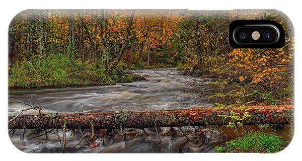 Prairie River Tree Crossing IPhone Case