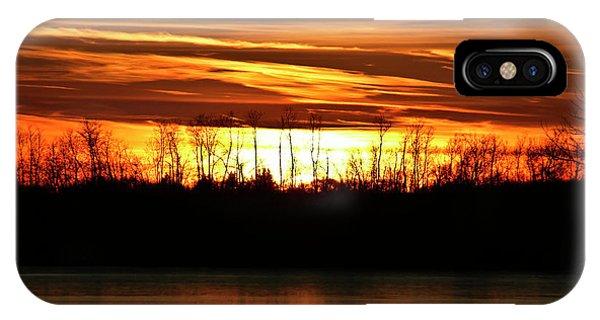 Prairie Sunset IPhone Case