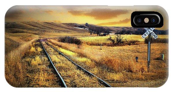 Prairie Tracks IPhone Case