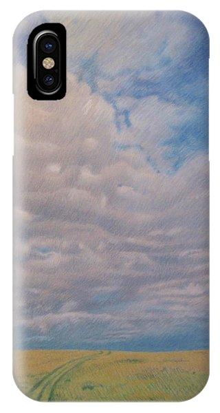 Prairie Trail IPhone Case