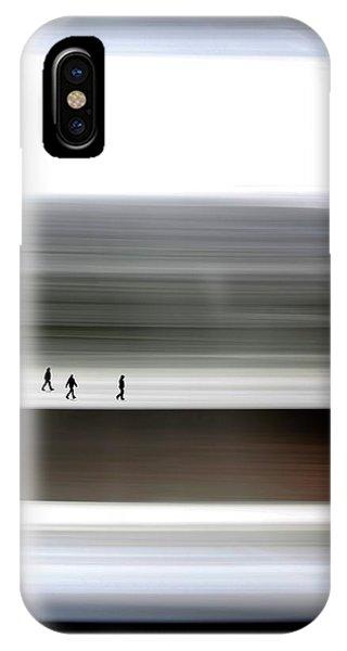 iPhone Case - Prairie Walkers by Bill Linn