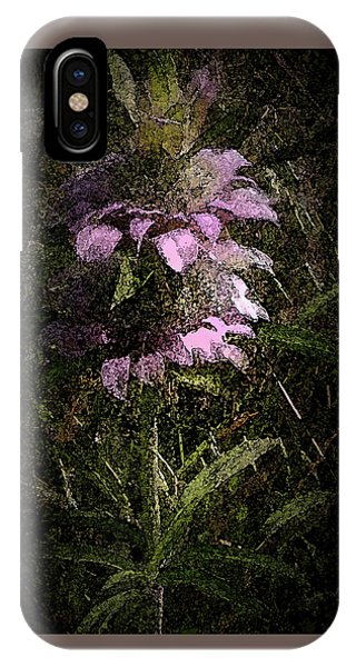Prairie Weed Flower IPhone Case