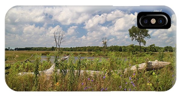 Prairie Wetland IPhone Case
