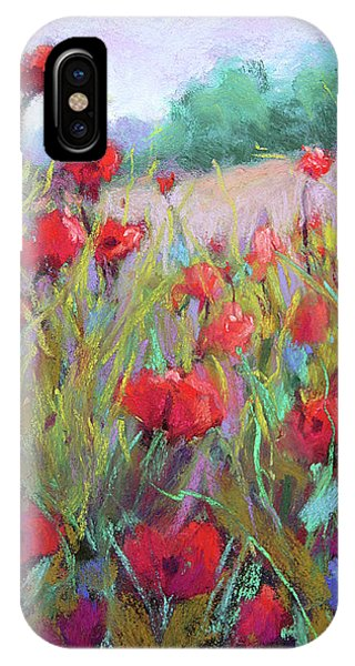 Praising Poppies IPhone Case