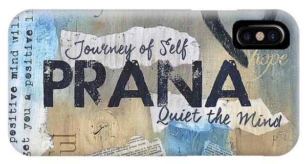 Relaxation iPhone Case - Prana by Debbie DeWitt