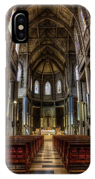 Our Lady Of Nahuel Huapi Cathedral In The Argentine Patagonia IPhone Case