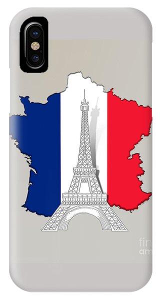 Pray For Paris IPhone Case
