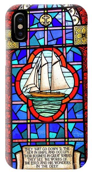 Prayer At Sea IPhone Case
