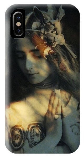 Prayer iPhone Case - Prayer - Dream A Little Dream For Me  by Paul Lovering