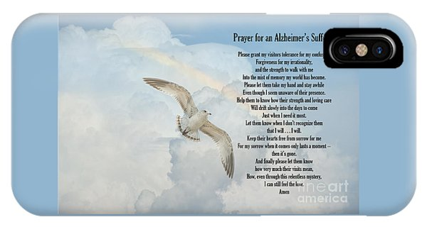 Prayer For An Alzheimer's Sufferer IPhone Case