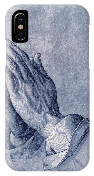 Praying Hands, Art By Durer IPhone Case