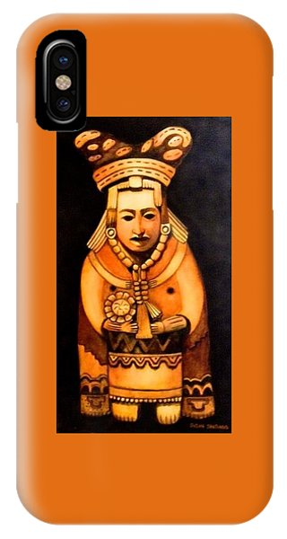 Pre Columbian God IPhone Case