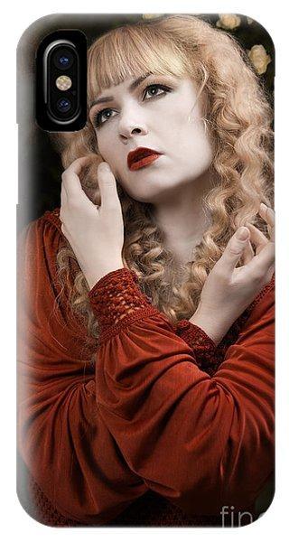 Pre-modern iPhone Case - Pre-raphaelite Beauty by Amanda Elwell