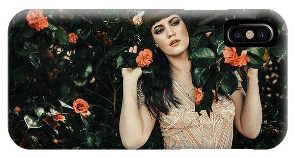 Pre-modern iPhone Case - Pre-raphaelite Style Portrait by Amanda Elwell