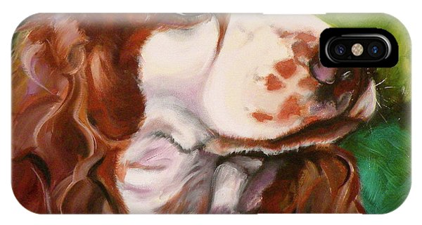 Precious Spaniel IPhone Case