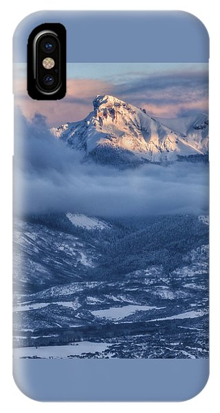 Precipice Smiling IPhone Case