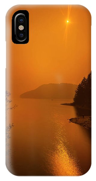IPhone Case featuring the photograph Preclipse 8.17 by Dan McGeorge