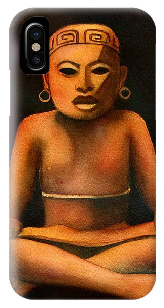 Precolumbian Series #1 IPhone Case