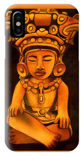 Precolumbian Series #2 IPhone Case