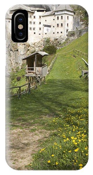 Predjama Castle IPhone Case