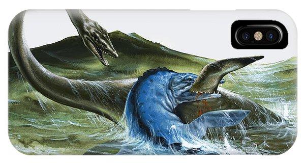 Prehistoric Creatures IPhone Case