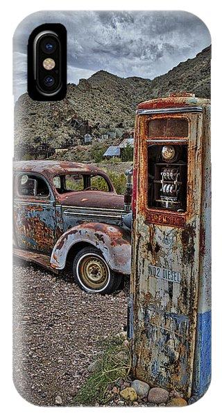 Premium No 2 Diesel Pump IPhone Case