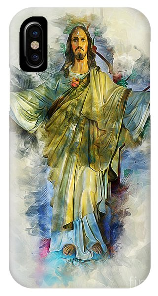 Spirituality iPhone Case - Prescence Of God by Ian Mitchell