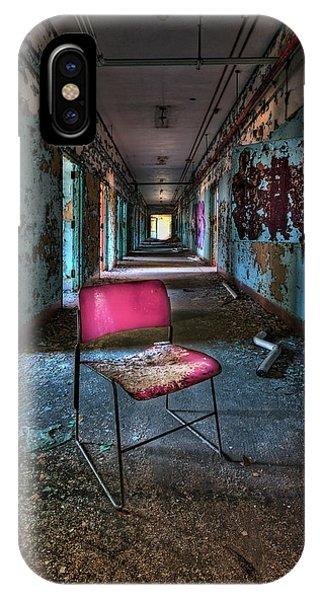 Chair iPhone Case - Presence by Evelina Kremsdorf