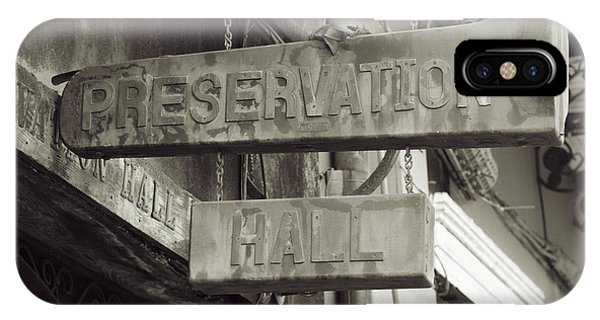 Preservation Hall, French Quarter, New Orleans, Louisiana IPhone Case