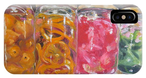 Preserves Spanish Market IPhone Case