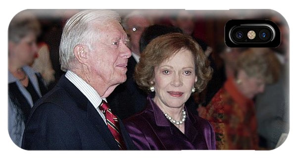 President And Mrs. Jimmy Carter Nobel Celebration IPhone Case