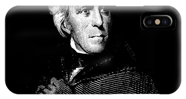 Andrew iPhone Case - President Andrew Jackson Graphic by War Is Hell Store