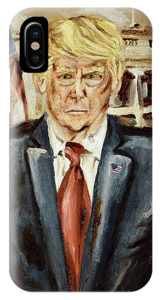 President Donald Trump IPhone Case