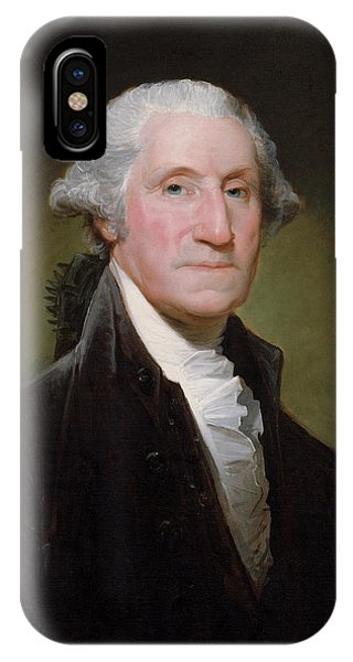 Patriots iPhone Case - President George Washington by War Is Hell Store