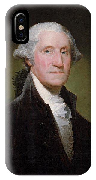 President George Washington IPhone Case
