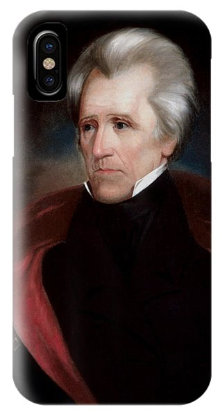 Patriot iPhone Case - President Jackson by War Is Hell Store
