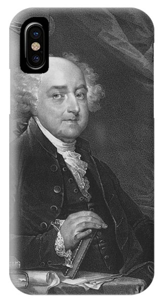 United States Presidents iPhone Case - President John Adams - One by War Is Hell Store