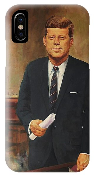 President John F. Kennedy IPhone Case