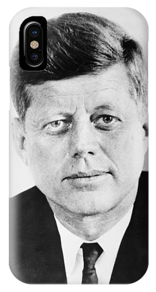 Leader iPhone Case - President John F. Kennedy by War Is Hell Store
