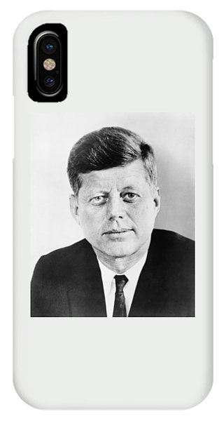 Pig iPhone Case - President John F. Kennedy by War Is Hell Store