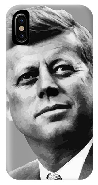 Leader iPhone Case - President Kennedy by War Is Hell Store